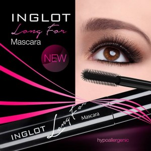 Тушь INGLOT LONG FOR MASCARA